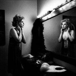 Progetto fotografico Creatura di Francesca Guarnaschelli specchio