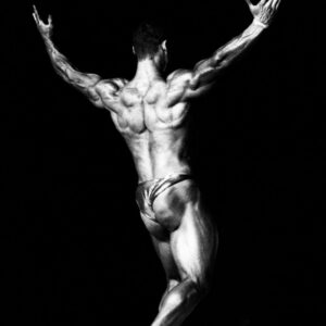 Progetto fotografico Creatura di Francesca Guarnaschelli Body Builder