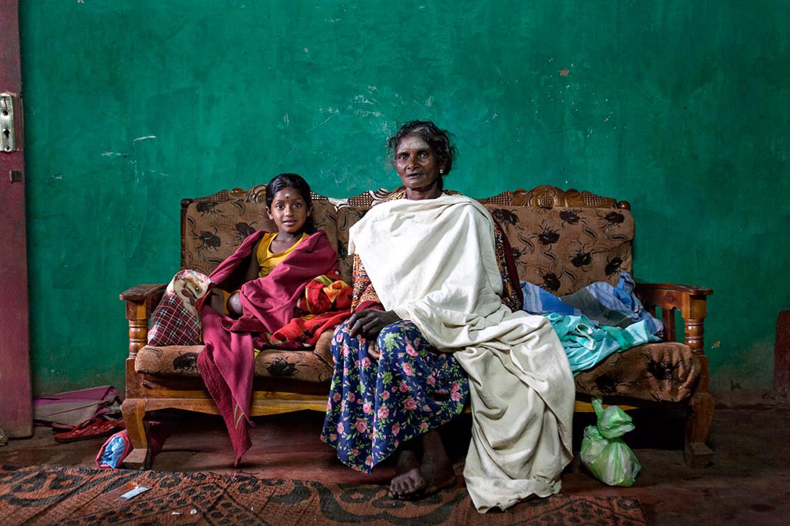 Progetto fotografico Le madri di Ceylon realizzato da Cortonicchi Guardaschelli