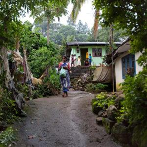 Progetto fotografico le madri di Ceylon di Francesca Guarnaschelli case