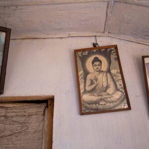 Progetto fotografico le madri di Ceylon di Francesca Guarnaschelli preghiera
