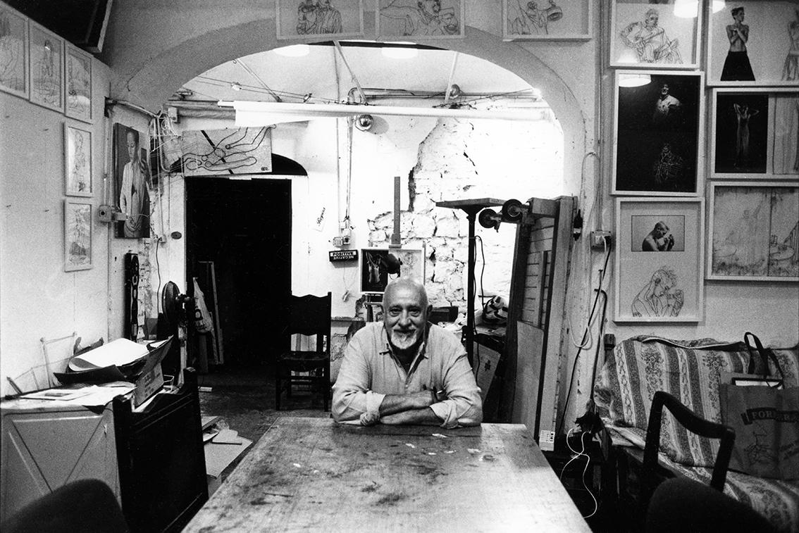 Ritratto Bruno Melappioni fotografa Francesca Guarnaschelli