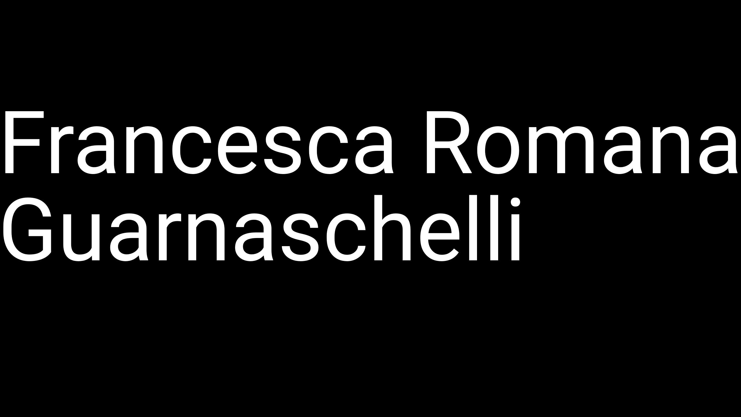 Francesca Romana Guarnaschelli